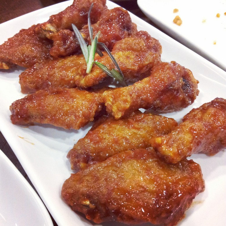 KyoChon red spicy wings