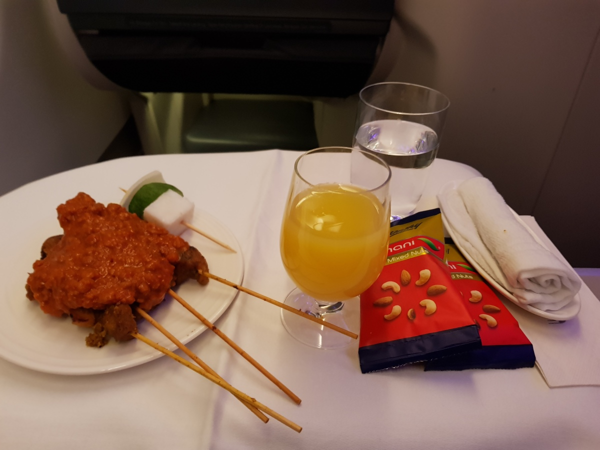 Flying Malaysia Airlines Business Class from KUL to ICN (MH66 / Airbus A330-300)